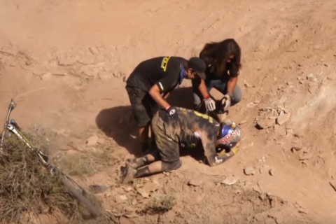 Red Bull Rampage Top 5 Crashes YouTube